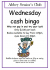 Wednesday Cash Bingo