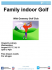 Family Indoor Golf @ Oswestry Library