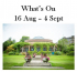 What's On 16 Aug to 4 Sep 2016 in and around Harrogate