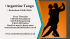 Argentine Tango classes and Social Práctica