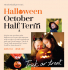 Halloween & October Half Term