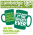Cambridge 105 Macmillan World's Biggest Coffee Morning