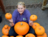 Children challenged to carve ghoulish faces into pumpkins