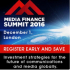 Media Finance Summit 2016