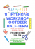 11+ INTENSIVE WORKSHOP  OCTOBER HALF TERM