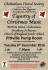 Cheltenham Choral Society Winter Concert, 6th December 2016