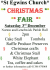 St Egwins Christmas Fair
