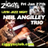 Ziggy's Presents Latin Jazzi night featuring the Neil Angilley Trio