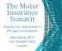 The Motor Insurance Summit, London, 2017