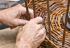 Basket Weaving at the Earths Trust Centre