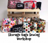Storage Bags Sewing Workshop at @TheStitchMouse #Epsom