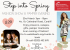 Step into Spring Fashion Show and Pamper Evening