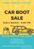 Wirral Hospice St John's Car Boot Sale