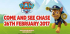 Meet PAW Patrol at Woburn Safari Park on Sunday 26th February