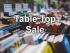 Table Top Sale, 1st April 2017