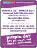 Epilepsy Awareness 'Purple Day' Walk
