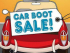 Car Boot Sales 2017 in Solihull