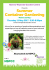 Summer Container Gardening Talk in aid of the NSPCC