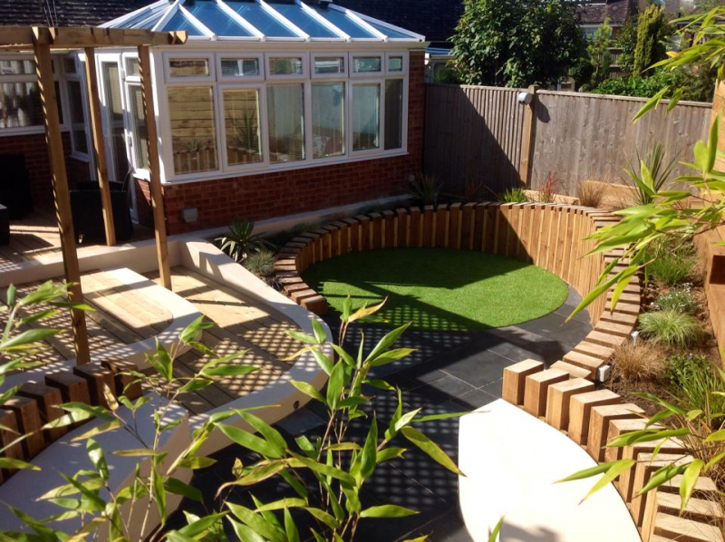 how much does garden landscaping cost in eastbourne