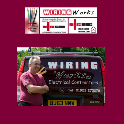 wiring works electricians in telford and wrekin rh thebestof co uk Electrical Wiring Work Electrical Wiring Work