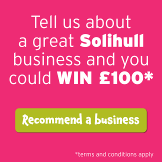 Recommend a Solihull Business