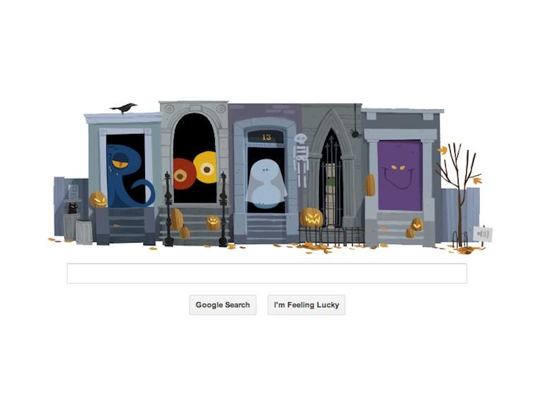 Happy Halloween! Google Doodles Halloween