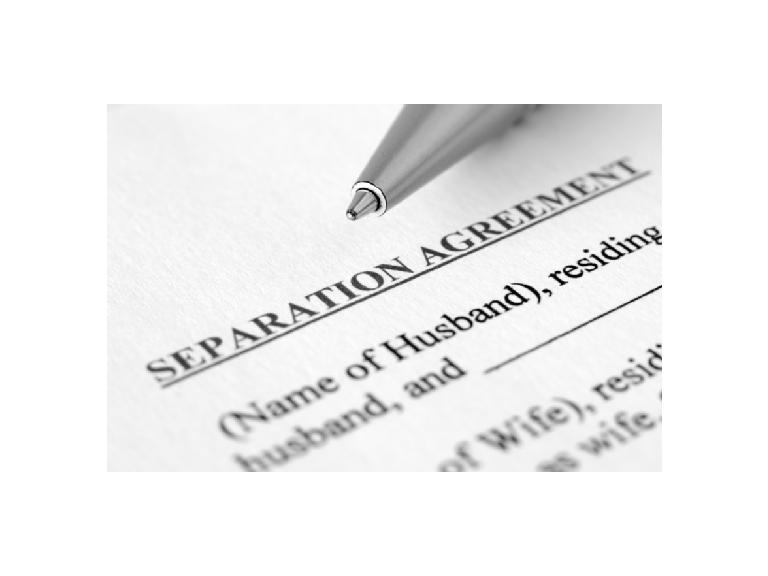 Separation Agreements Pre Divorce Advice