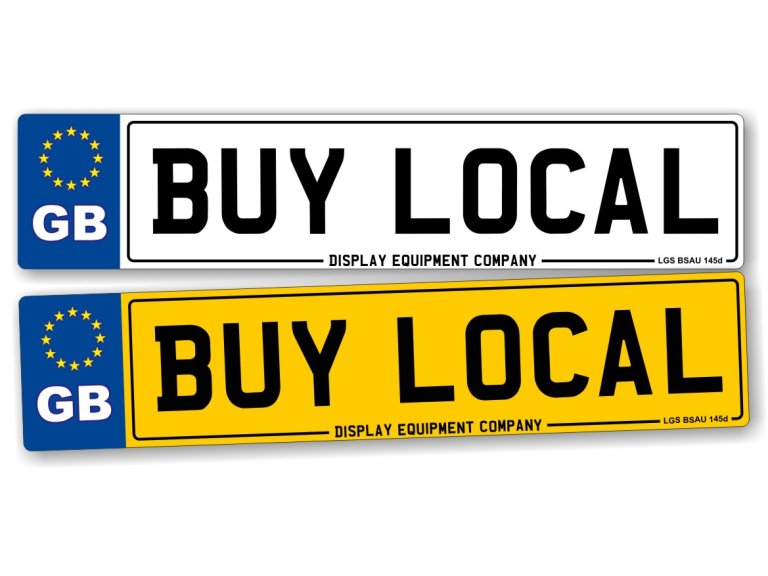 cheap registration plates made in bolton by display. Black Bedroom Furniture Sets. Home Design Ideas