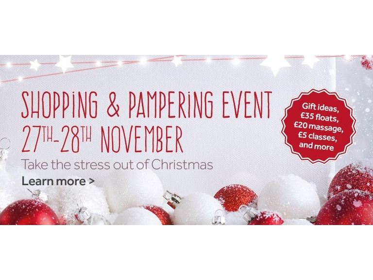 The Float Spa Christmas Shopping & Pampering Open Days