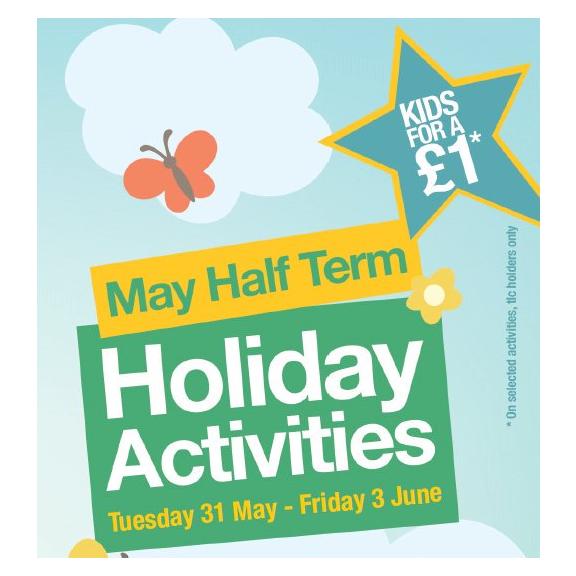 Telford kids for £1 half term activities