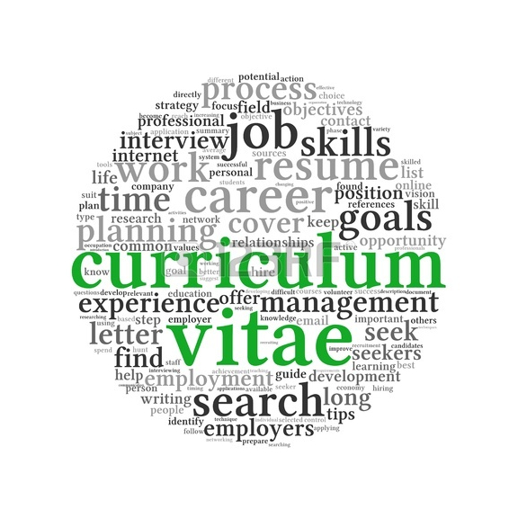 write your cv online