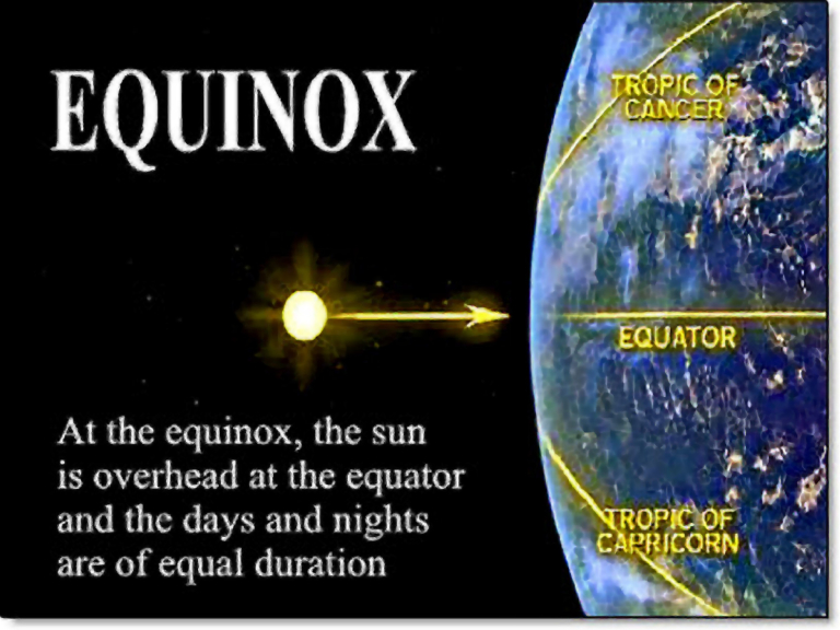 Spring Equinox Is On 20th March 2017