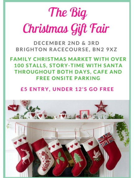 christmas craft markets and gift fairs in brighton and hove
