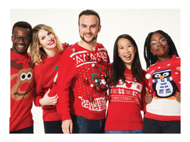 - LED Light-Up Christmas Jumpers