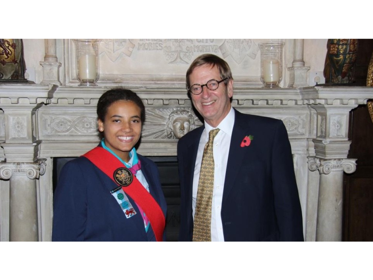 Epsom Young Leader Made Lord Lieutenant Cadet #Epsom
