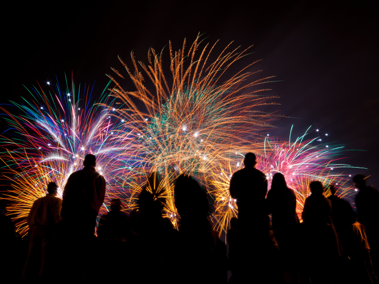 Firework Displays in Brighton and Hove - 2017