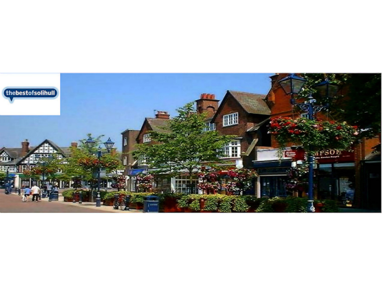 What's On In Solihull 2nd - 8th June 2017