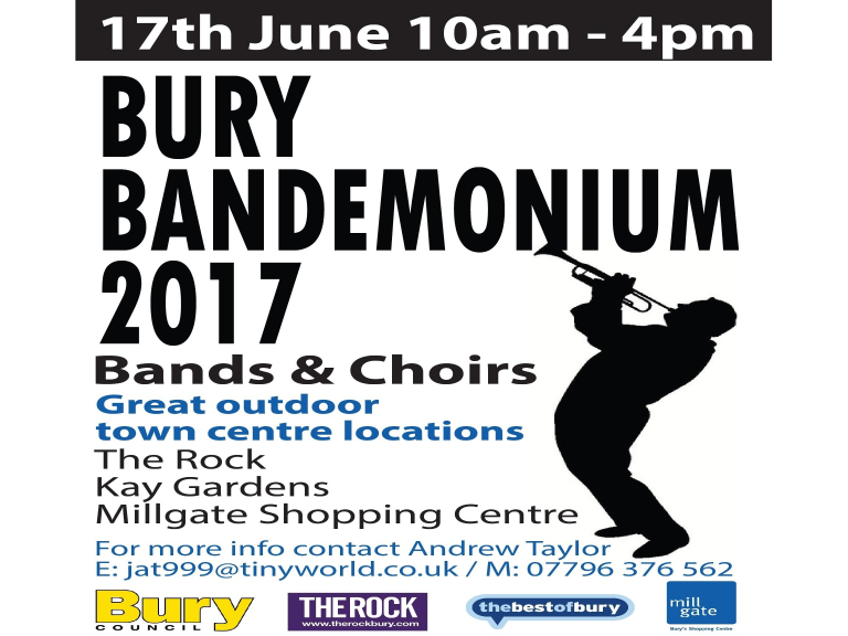 Bury Bandemonium is back for 2017