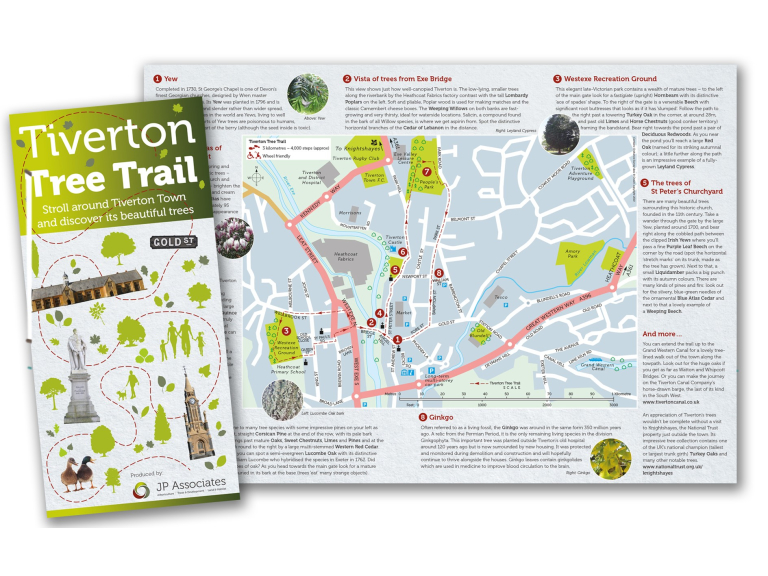 Mayor Launches Tiverton's First Town Tree Trail