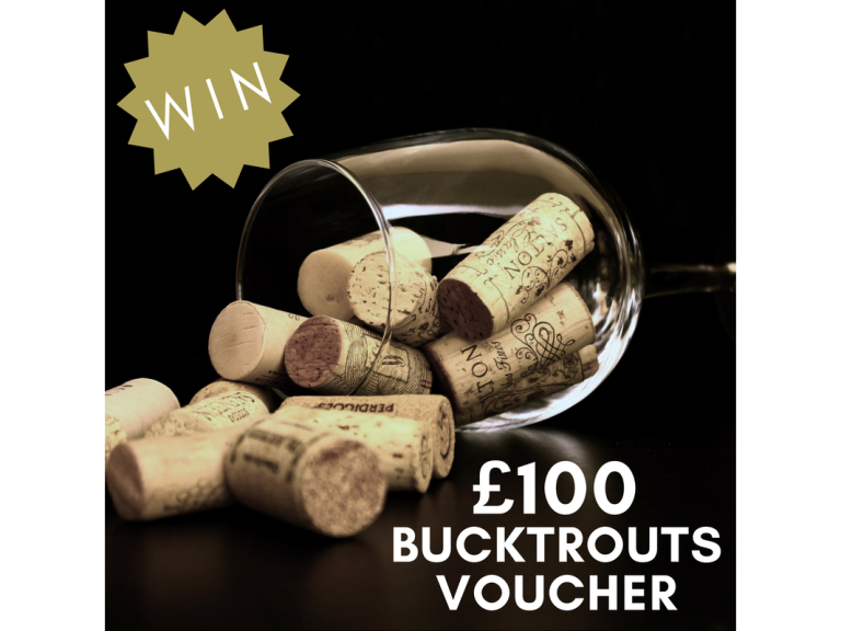 WIN A £100 VOUCHER TO SPEND AT BUCKTROUTS