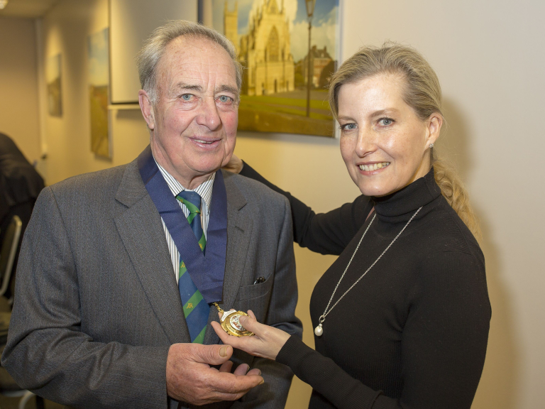 Devon County Show stalwart takes over as President