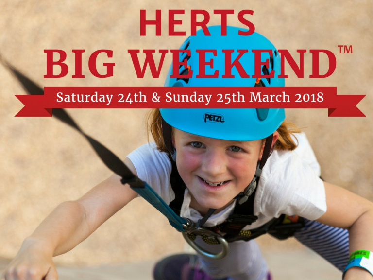 Registration now open for Herts Big Weekend!