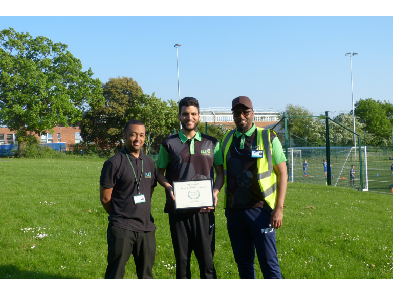 Christ's College Finchley wins MylocalPitch's Outstanding Sports Facility Award for April