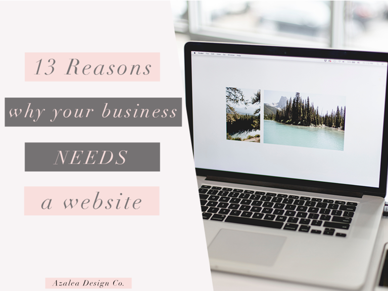 13 Reasons Why Your Business NEEDS a Website