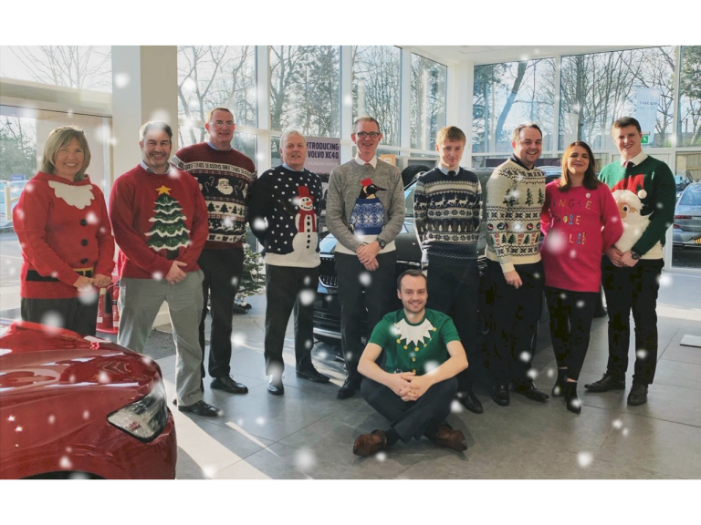 Local retailer gets behind Christmas Jumper Day