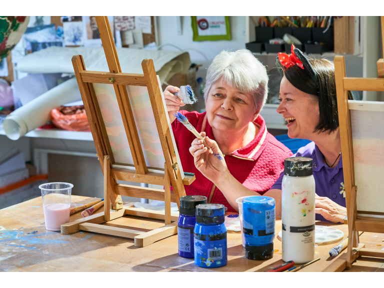Get Creative in Stroud this Care Home Open Day