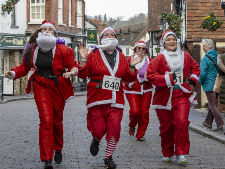 Christmas Fun Runs for Ho-Ho-Hospice Care