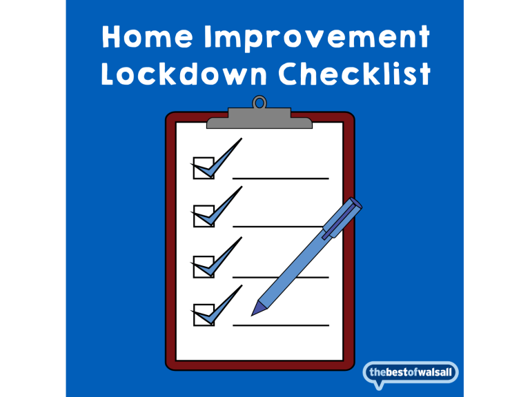 Home Improvement Lockdown Checklist - Walsall
