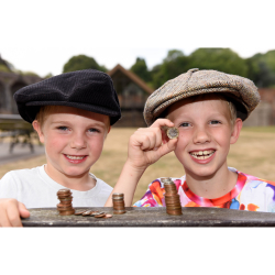 Children have the chance to help conserve their heritage