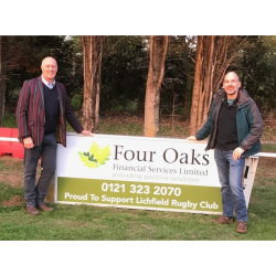 Local Financial Adviser Firm Throws Their Support Behind Lichfield Rugby Club